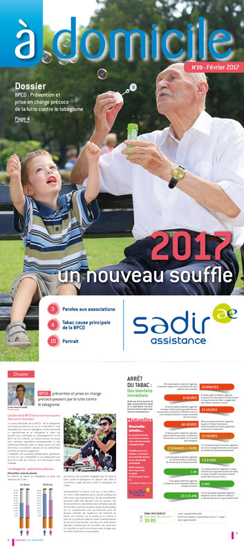 Magazine A Domicile - La Sadir